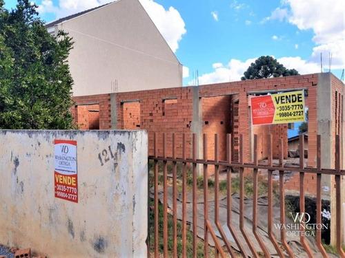 Terreno À Venda, 350 M² Por R$ 450.000,00 - Abranches - Curitiba/pr - Te0251
