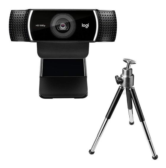 Webcam Logitech C922 Pro Stream Full Hd 1080p Alta Definição