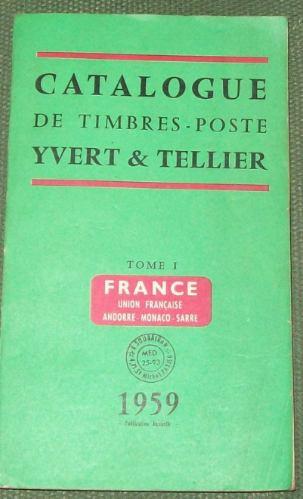 Catálogo Yvert Et Tellier 1959 (3 Tomos) L0267