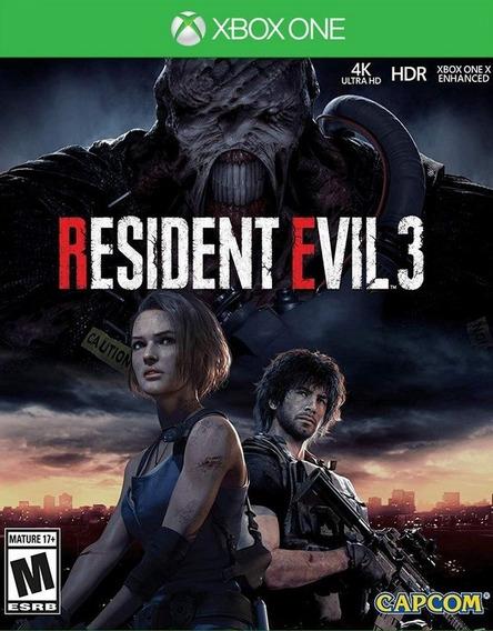 Jogo Xbox One - Resident Evil 3 - Novo Lacrado