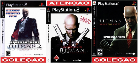 Hitman Ps2 Silent Contracts Blood (3 Dvd) Patch