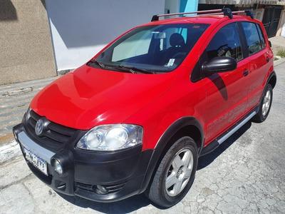 Volkswagen - Crossfox 1.6 2009 Vermelho