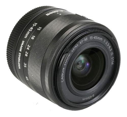 Imagem 1 de 4 de Lente Canon Ef-m 15-45mm F3.5-6.3 Is Stm