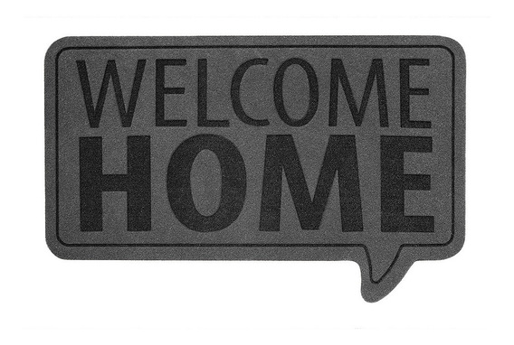 Felpudo Welcomehome Gris