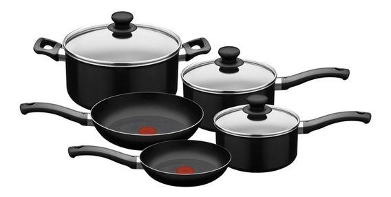 Bateria De Cocina Tefal Basic 8 Piezas Tienda Oficial