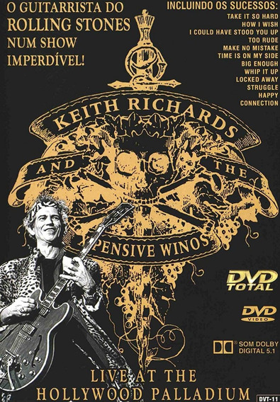 Dvd Keith Richards - Live At The Hollywood Palladium