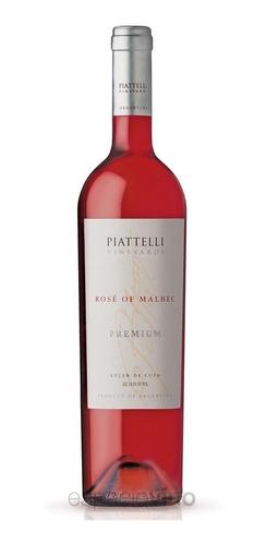 Caja X 6 - Piattelli Premium Rosé De Malbec