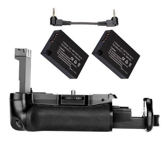 Battery Grip P/ Canon T7i 800d 77d Kiss X9i Bg-1x +2 Lp-el17