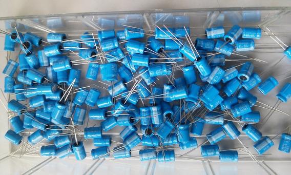 Capacitor Eletrolitico 47uf 50v 135º - 05 Unidades