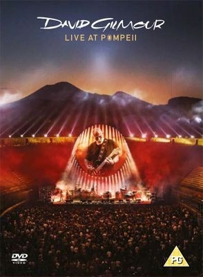Dvd David Gilmour Live At Pompeii 2 Dvd 2017 Open Music Sy