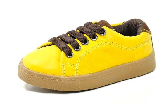 Sapatenis Infantil Masculino Amarelo 5482 Laroche