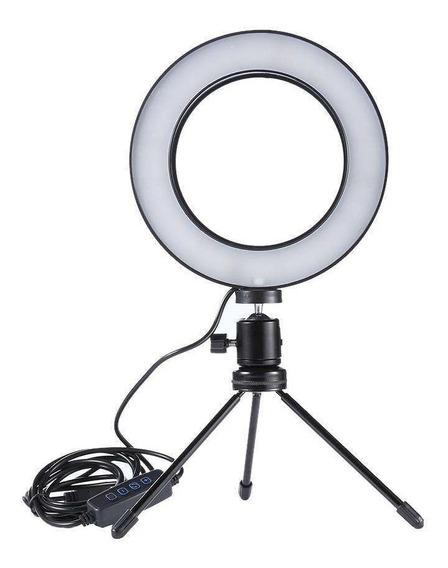 Iluminador Led Para Foto Portátil Máquiagem - Promoção