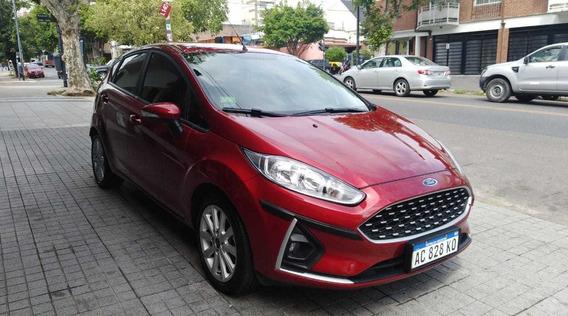 Ford Fiesta Kinetic Se Plus Con Gnc Inmaculado!!! Permuto!!