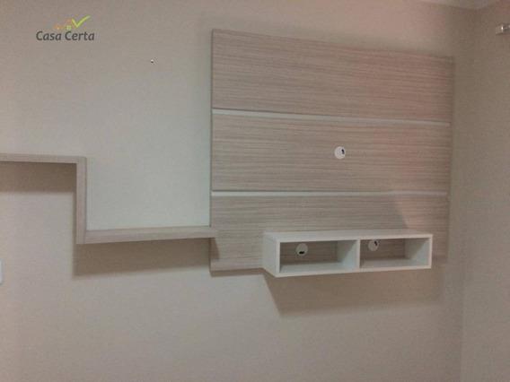 Apartamento Com 2 Dormitórios Para Alugar, 75 M² Por R$ 1.000,00/mês - Jardim Almira - Mogi Guaçu/sp - Ap0088