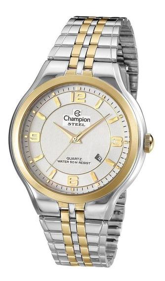 Relógio Champion Masculino Ref: Ca21633b Social Bicolor