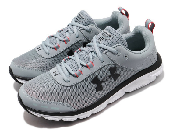 Tenis Under Armour Hombre Gris Charged Assert 3021952402