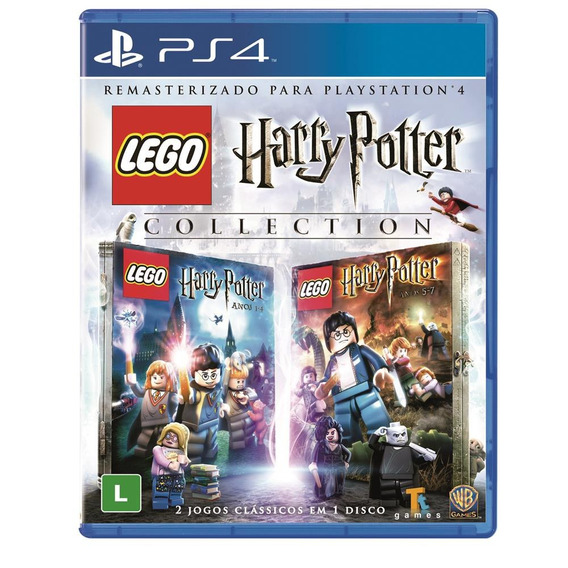 Lego Harry Potter Collection - Ps4 - Mídia Física - Novo
