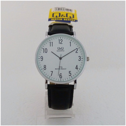 Relógio Masculino Qq Slim Original Executivo Pulseira Couro