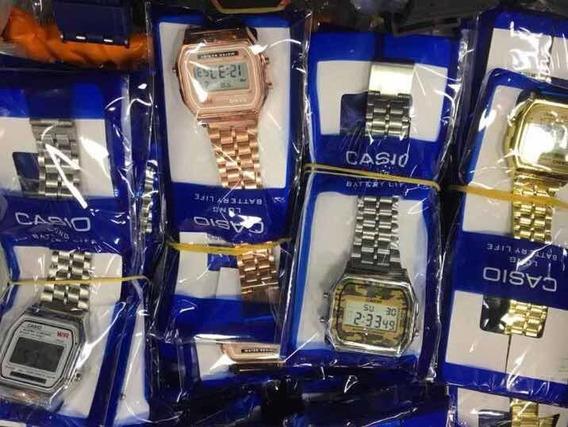 Relógio Casio Vintage Unissex Atacado 10 Unidades