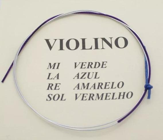 Corda Lá Avulsa Para Violino 4/4 Mauro Calixto