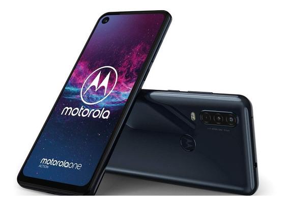 Celular Motorola One Action 128 Gb Triple Cámara Dual Sim