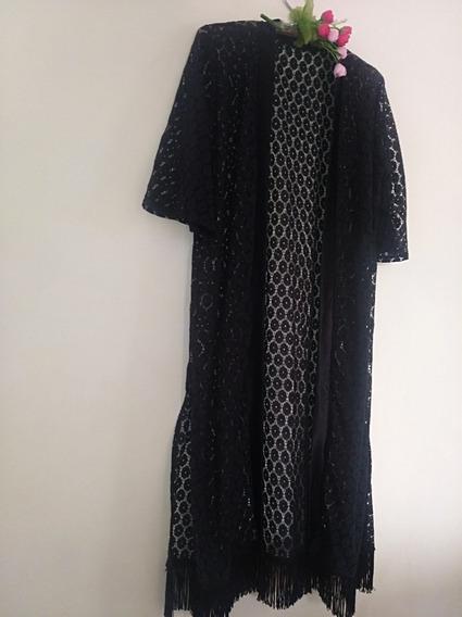 Kimonos De Moda, En Blonda Y Chalis