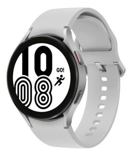 Imagen 1 de 6 de  Smartwatch Samsung Galaxy Watch4 44mm - Sm-r870 Plata