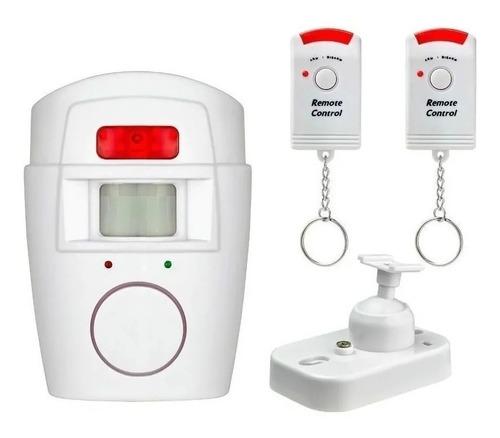 Alarma Inalambrica Sensor Movimiento Sirena Control Domicili