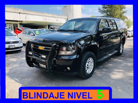 Chevrolet Suburban Blindada 2013 Nivel 5