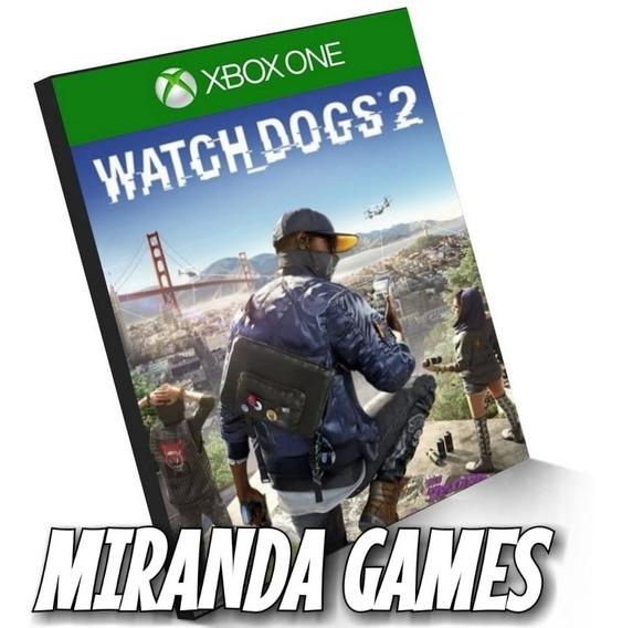 Watch Dogs 2 Xbox One Midia Digital