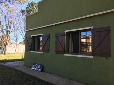 Casa Con Terreno Boca Del Cufre