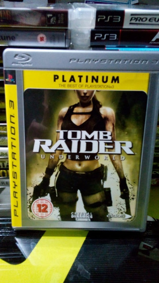 Tomb Raider Underworld Ps3 Jogo Original Midia Fisica