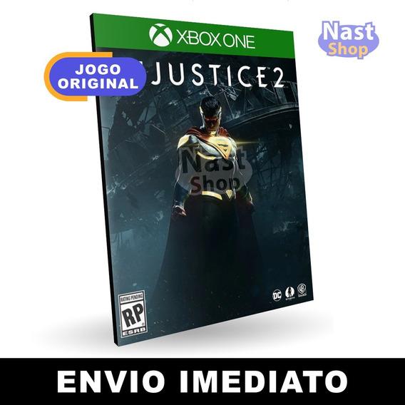 Injustice 2 Xbox One Mídia Digital Envio Imediato