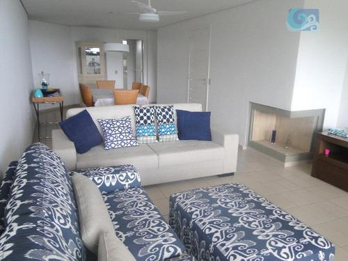 Imagem 1 de 30 de Apartamento À Venda - Condomínio Sorocotuba - Guarujá. - Ap4453