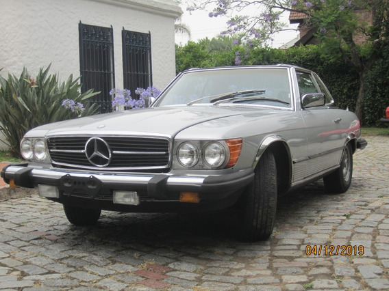Mercedes Benz 380 Sl Roadster Silver - Macome Classic.