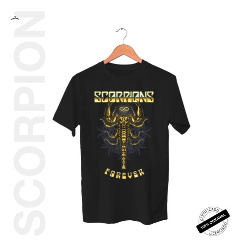 Camiseta Oficial Scorpions Forever 2019
