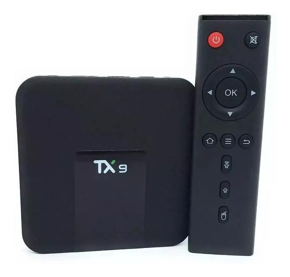 Conversor Smart Tv Tx9 4k 16gb Memória Ram 2gb