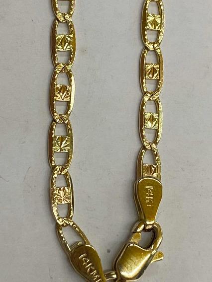 Cadena Oro 14k Tejido Gucci 60cm Peso: 7gr
