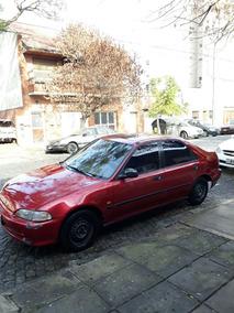 Honda Civic 1993 Full Gnc $60000 Total Papeles Al Dia, Usado