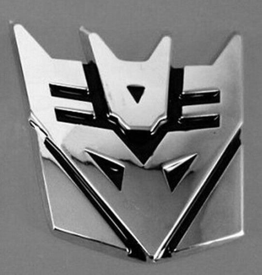 Adesivo Decalque Carro Logotipo 3d Transformers