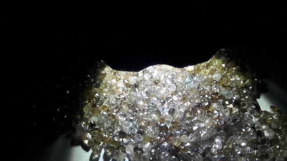 Lote Com 1 Ct De Diamante Bruto Natural