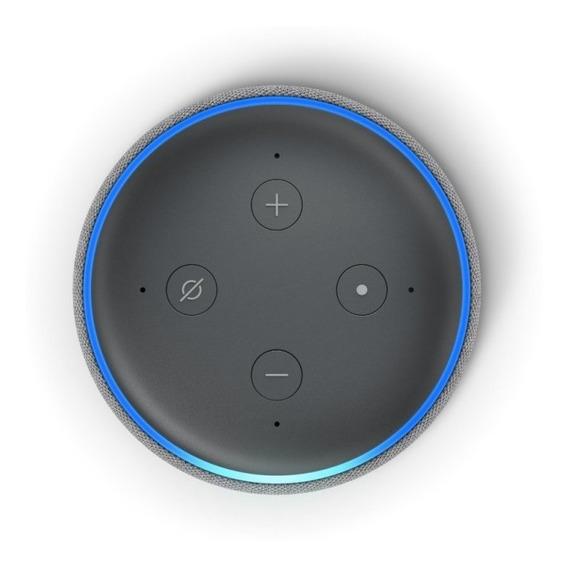 Alexa Echo Dot 3 Português + Lampada Led Rgb Bluetooth