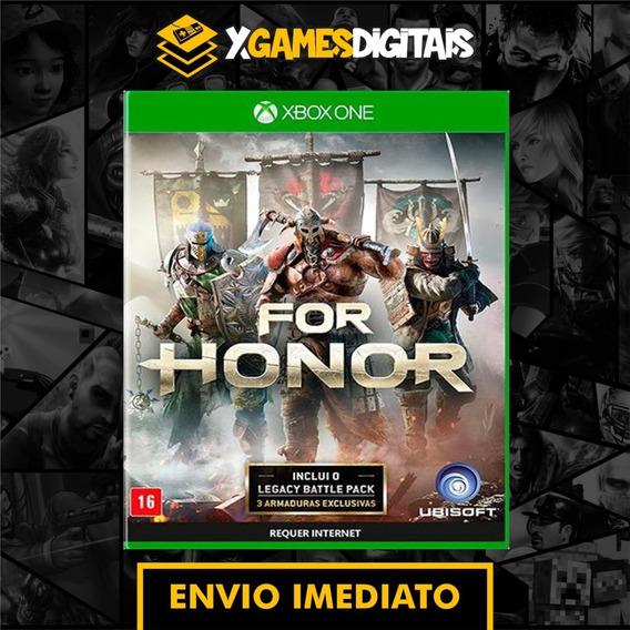 For Honor Xbox One Midia Digital + 1 Jogo Brinde