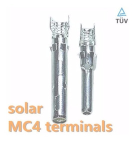 30 Par Crimp Terminal Solar Para Conector Mc4