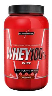 Whey Protein 100% Pure Integralmedica 907g + Coqueteleira