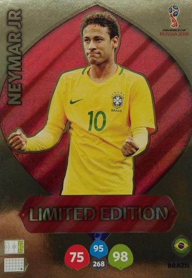 Cards Copa 2018 Adrenalyn Limited Edition Neymar