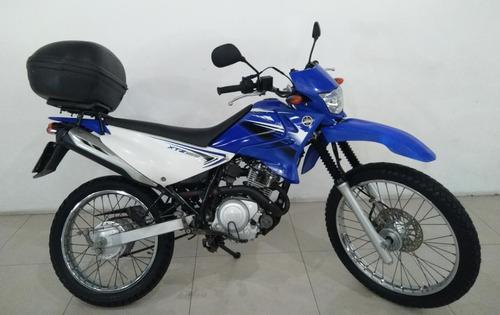Moto Xtz Yamaha Es 125cc Azul 2012