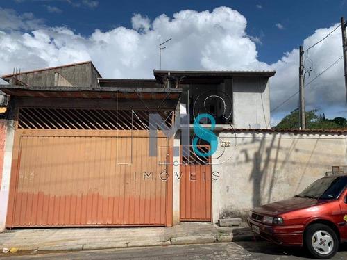 Imagem 1 de 18 de Sobrado Com 4 Dormitórios À Venda, 200 M² Por R$ 360.000,00 - Vila São Paulo - Mogi Das Cruzes/sp - So0147