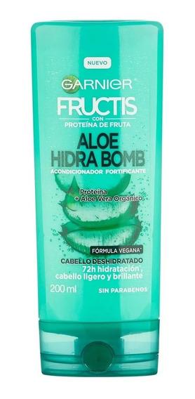 Garnier Fructis Acondicionador Aloe Hidra Bomb X 200ml
