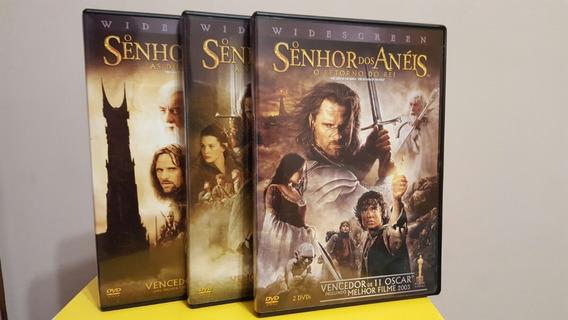 Filme O Senhor Dos Anéis - Box Trilogia 3 Dvd